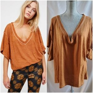 Free People We the Free My Boyfriend's Tee